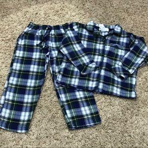 Toddler boy plaid pajama pant set!!🥰